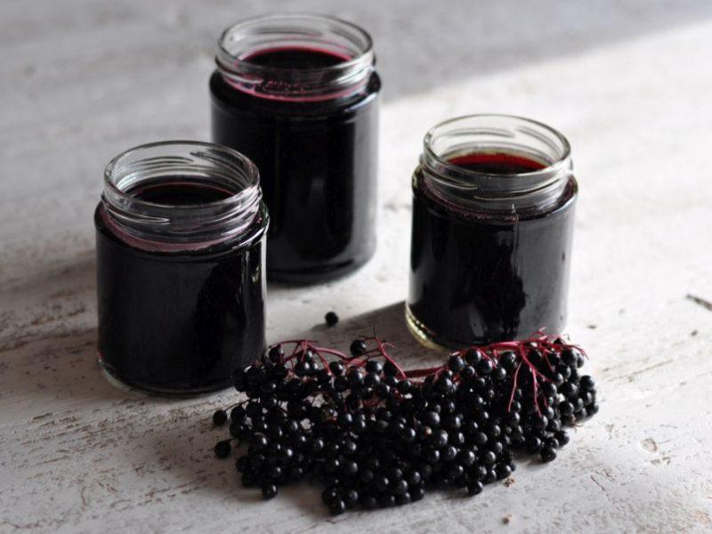 Sirop de fructe de soc