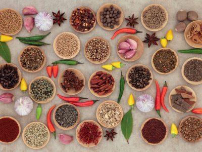 Compatibilitati legume –  condimente