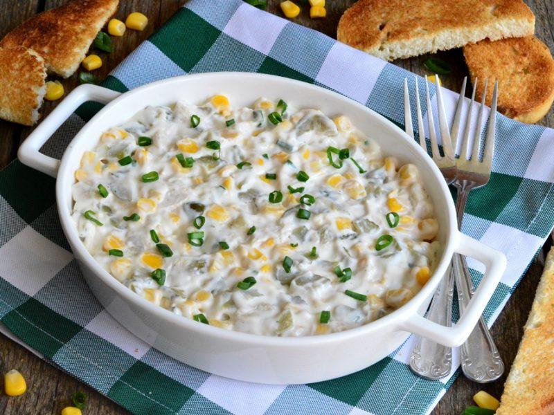 Salata de piept de pui cu porumb