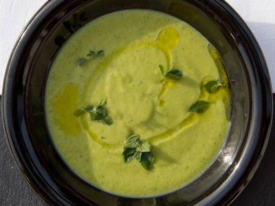 Supa crema de urzici