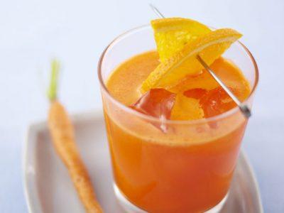 Suc de morcovi, portocale si lamaie